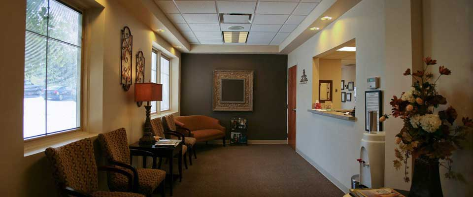 Lobby of Endodontist Office